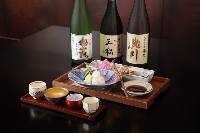 ブロックMの日本食レストラン