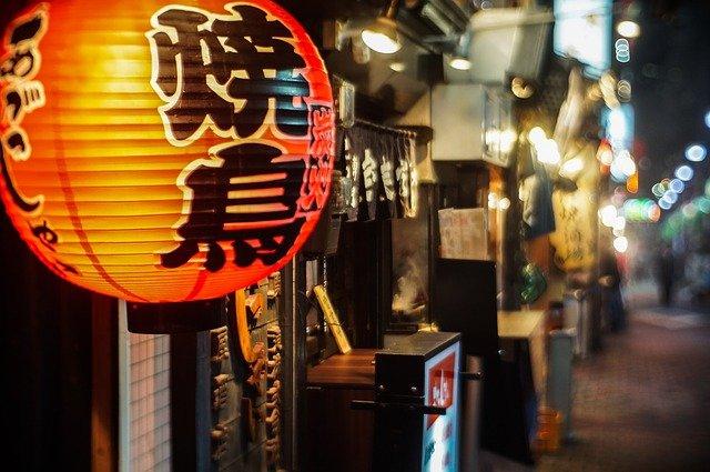 チカランの日本食レストラン街(シンガラジャ通り)
