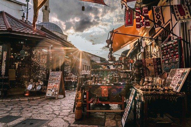 ジョグジャカルタ市内中心部