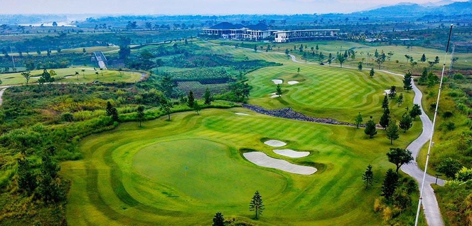 パラヒャンガンゴルフ場