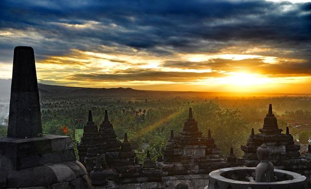 インドネシアの世界遺産まとめ【9つの世界遺産があります】